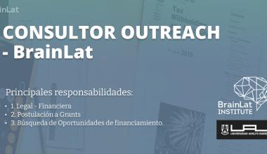 Llamado a concurso (2021): Consultor Outreach LATIN AMERICAN BRAIN HEALTH INSTITUTE (BrainLat)