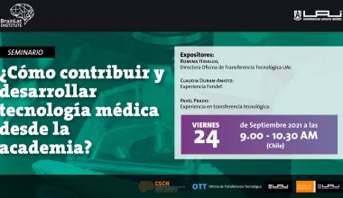 Seminario: ¿Cómo contribuir y desarrollar tecnología médica desde la academia?